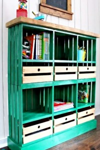 DIY Crate Furniture Ideas & Pictures Using Wooden Crates ...
