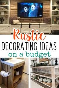Easy DIY Rustic Home Decor Ideas on a Budget - Easy DIY ...