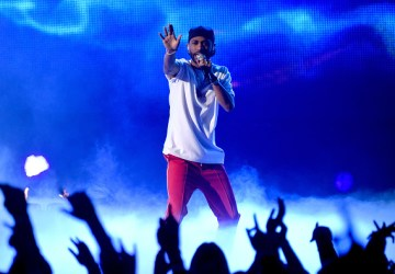big sean iheart awrds performance