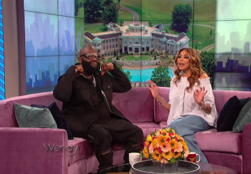 rick ross wendy williams show