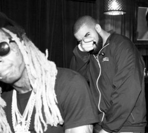 drake gets a tattoo of lil wayne