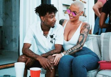 amber rose says she wants to marry 21 savage
