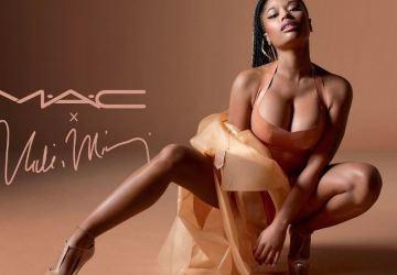 nicki minaj partners with mac for nude lipstick collection