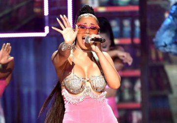 cardi b performs bodak yellow at 2017 bet hip hop awards