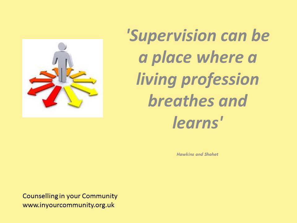 What makes a good counselling supervisor? - Counselling in your