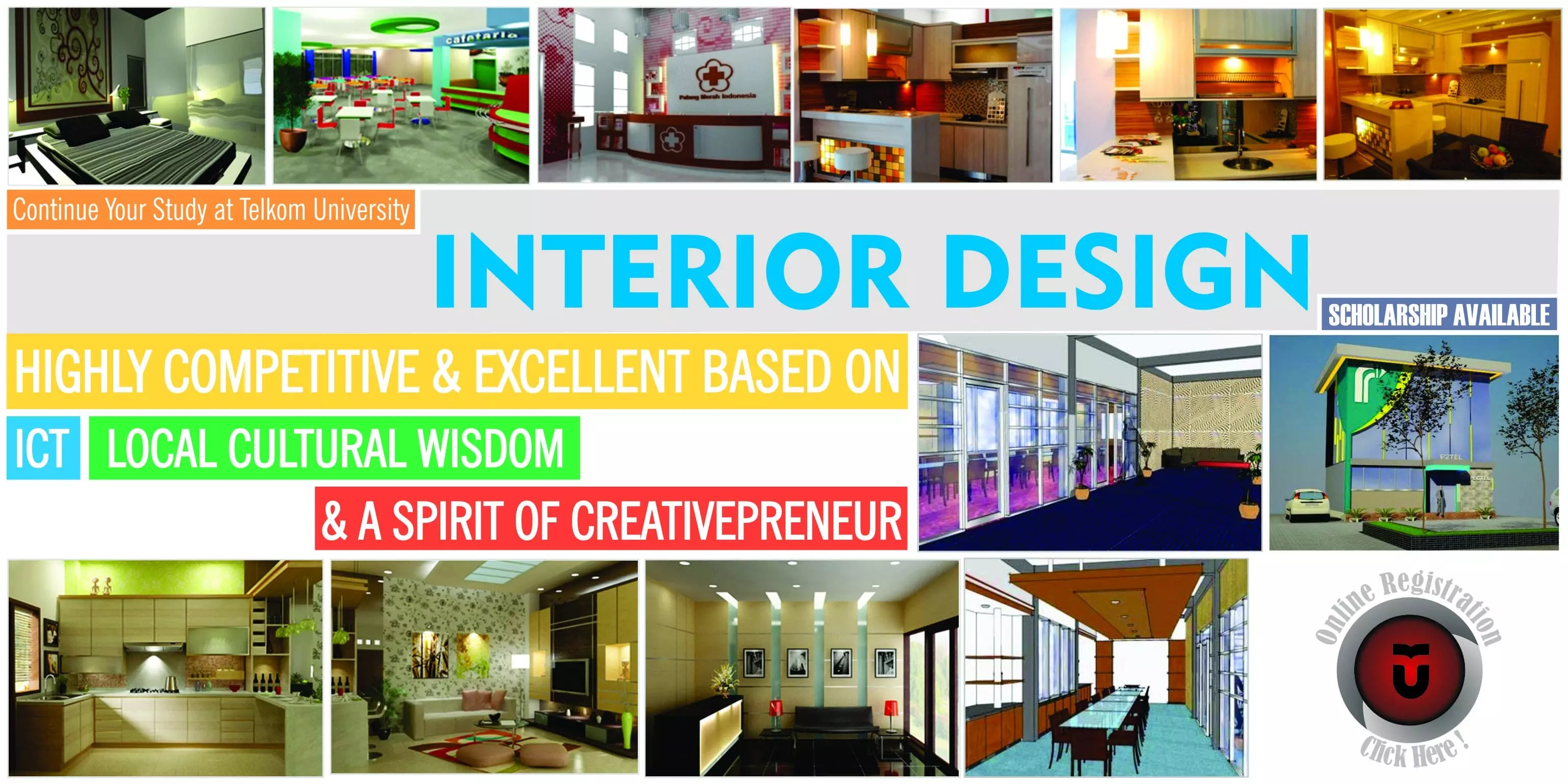 Desain Indonesia Interior Design Telkom University