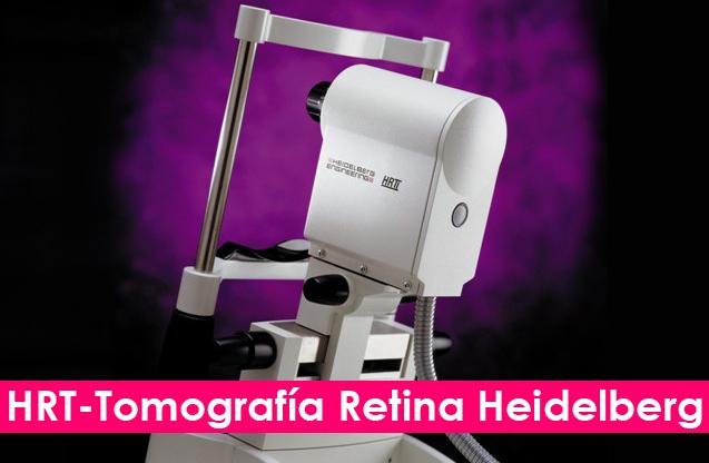 HRT-Tomografía Retina Heidelberg