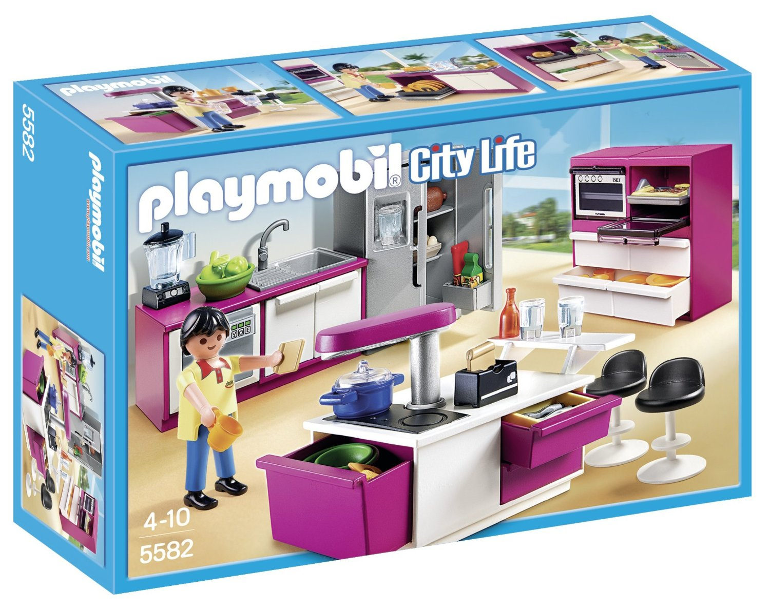 Eclairage Maison Playmobil Maison Moderne City Life Playmobil Amazon