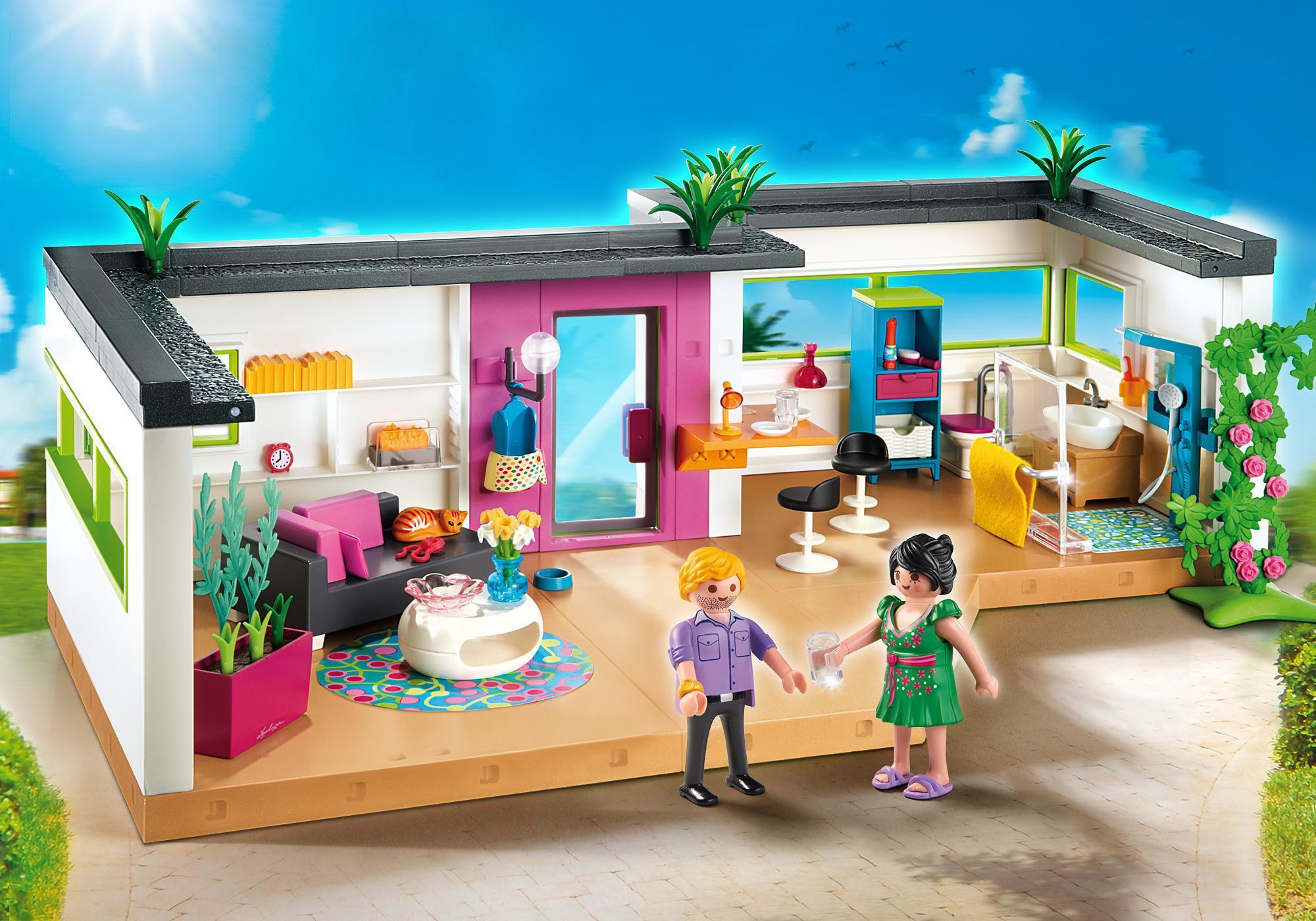 Salon Moderne Playmobil King Jouet