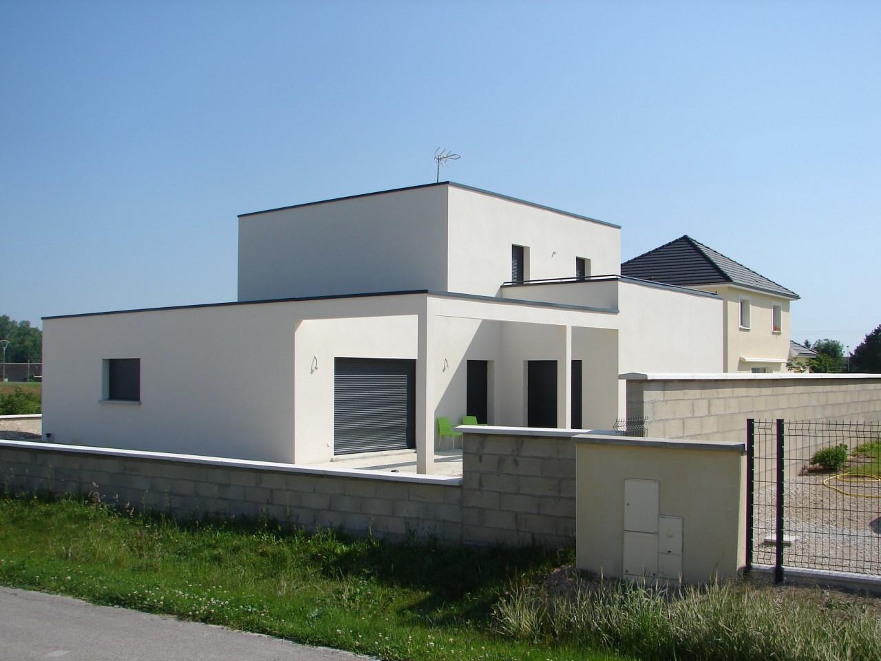 Terrasse Maison Cubique