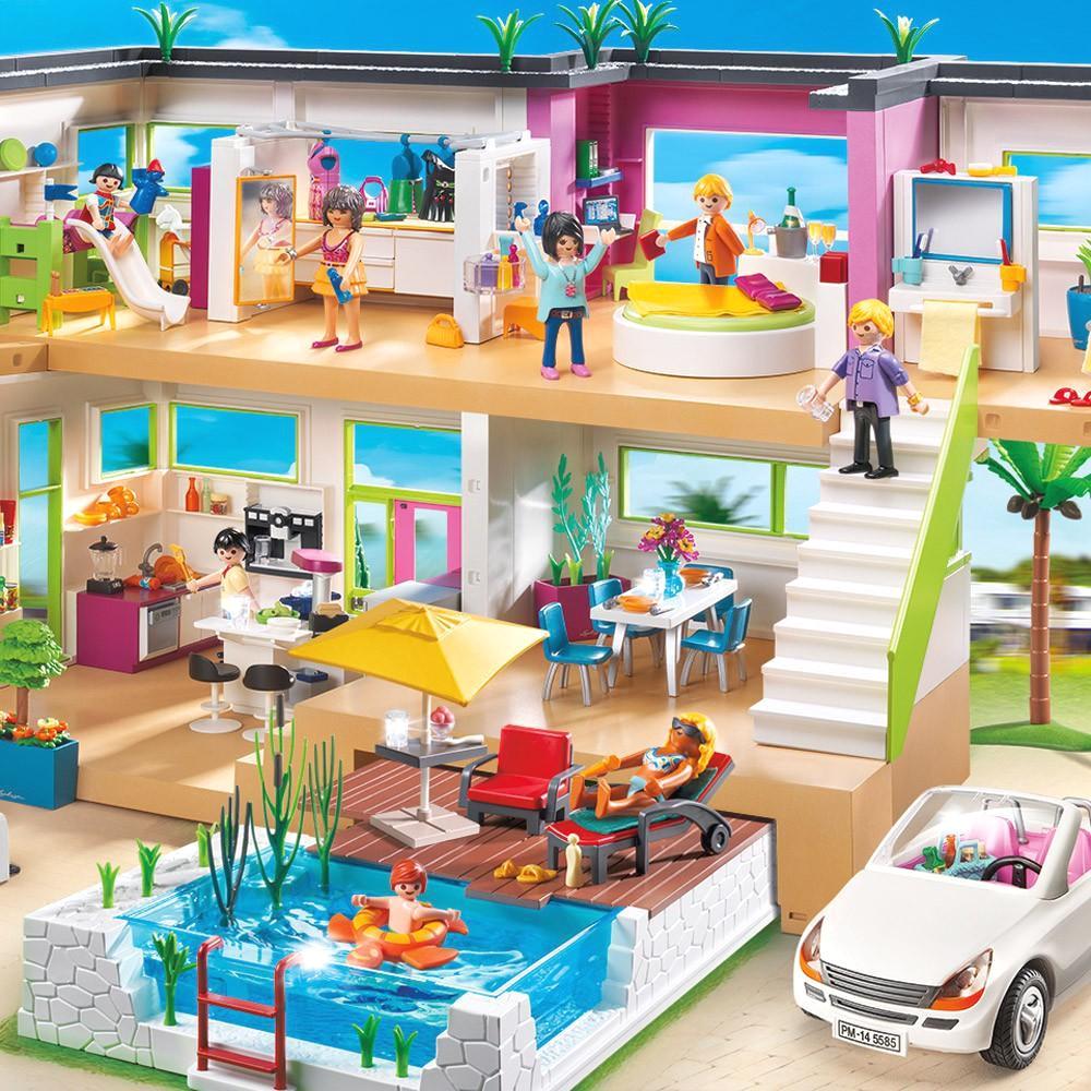 Amenagement Maison De Ville Playmobil | Liste De Noël De Marie Lou ...