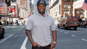 50 Cent & Josh Lucas Visit 'Extra'