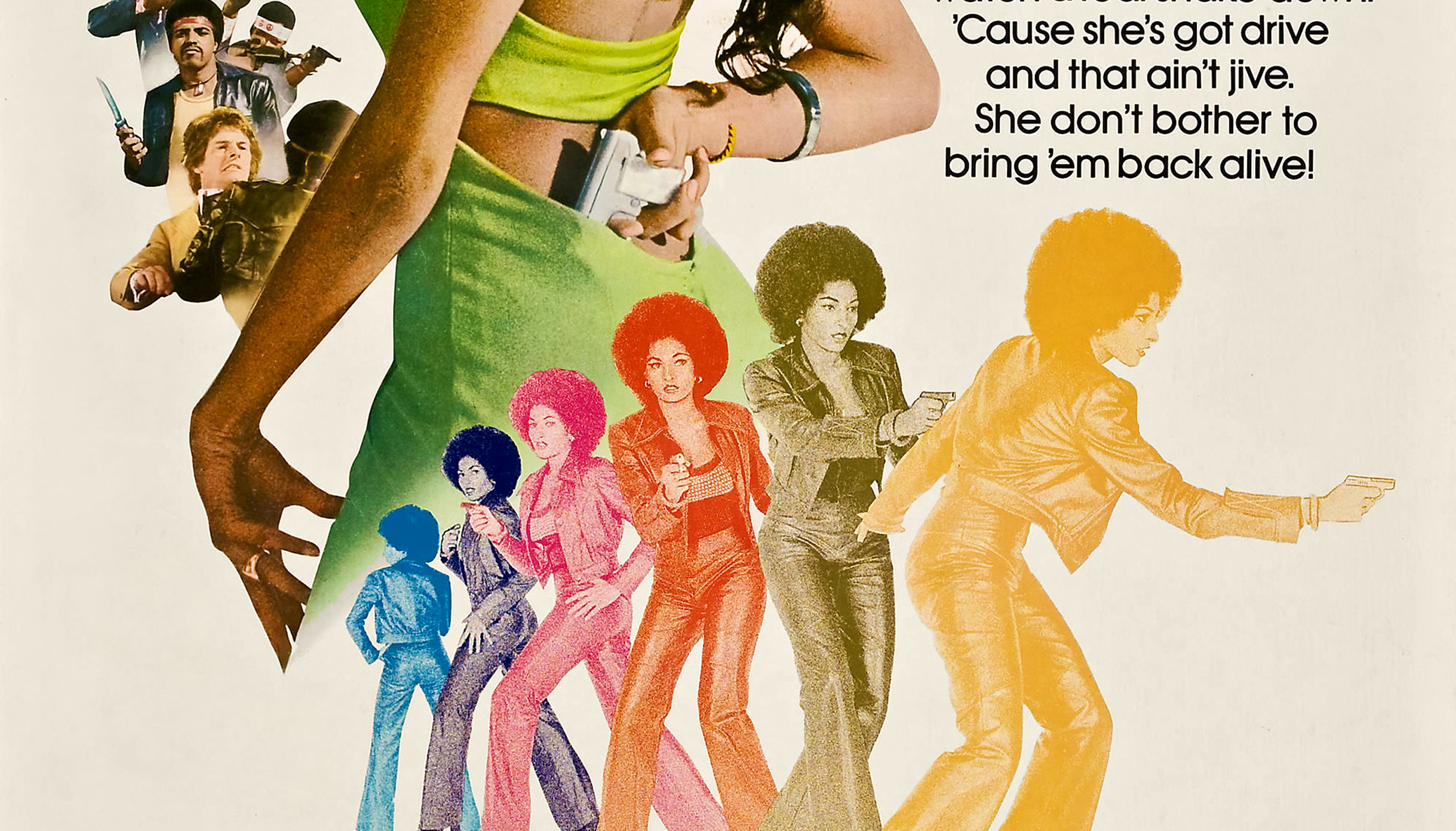 Poster For 'Foxy Brown'