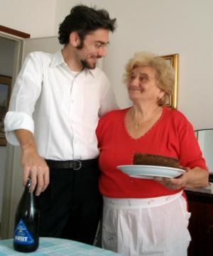 Con nonna Lisèta