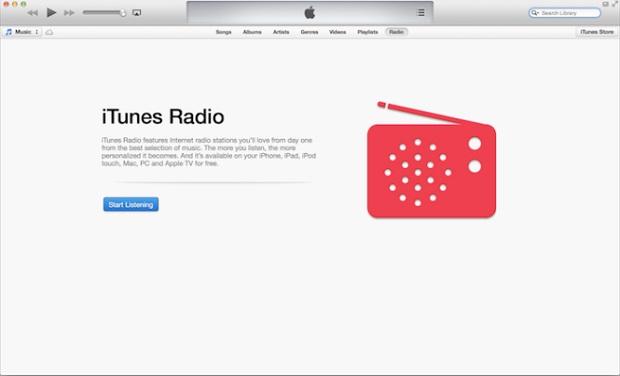 iTunes 11-1 radio
