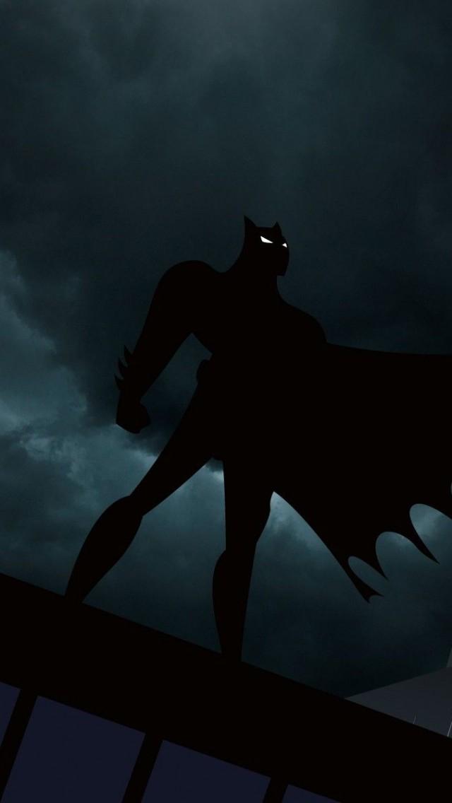 Batman Dark sky iPhone 5
