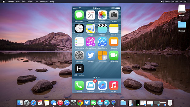 Use QuickTime to record screen of your iPhone or iPad running iOS 8