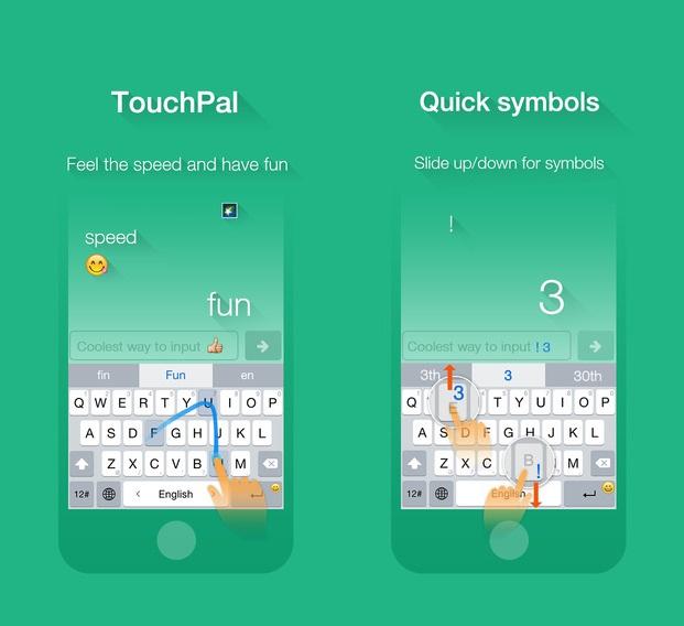 TouchPal iOS