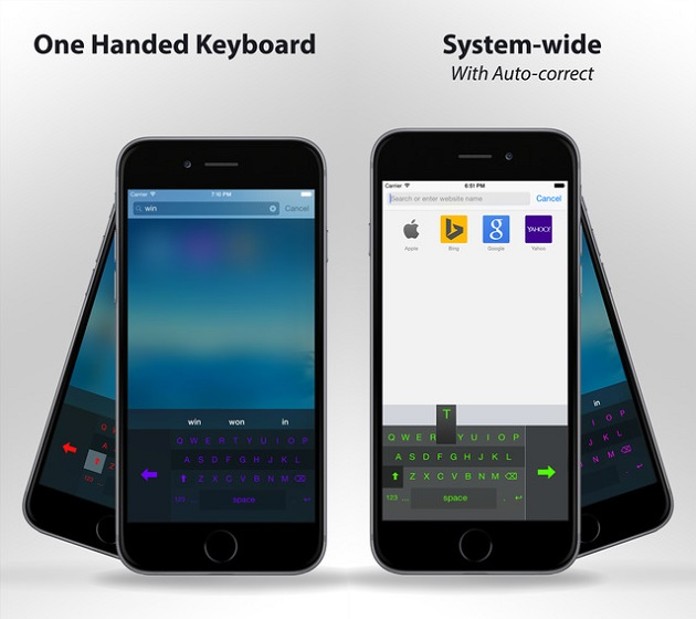 One Handed Keyboard iPhone (1)