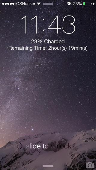 ChargingHelper tweak