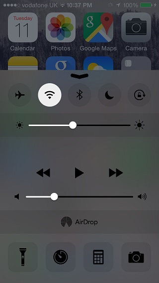 DarkCC tweak