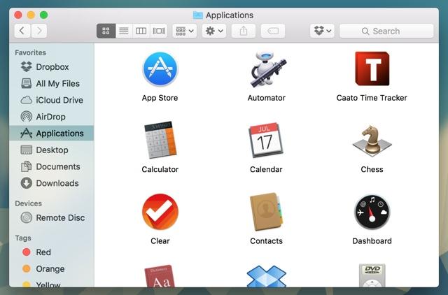 Mac apps finder