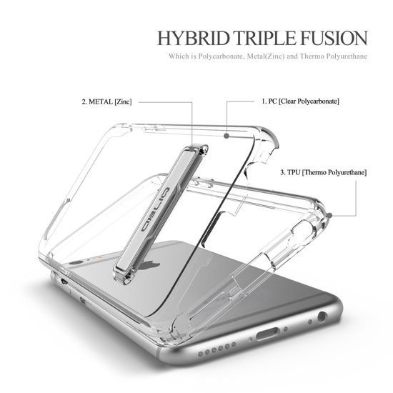 OBLIQ thin case with protection