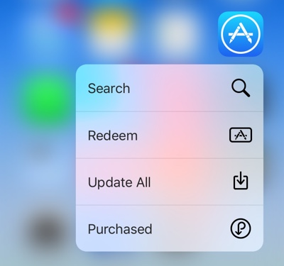 Update All 3D Touch