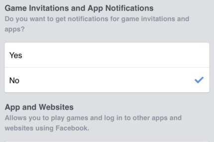 Facebook app notifications feat