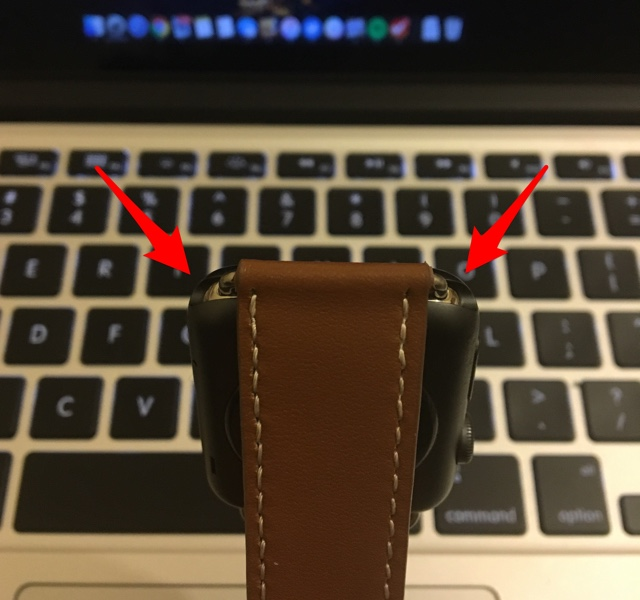 38mm Band on 42mm Apple Watch