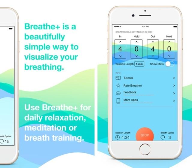 Breath+ app