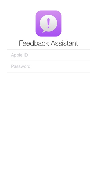 Feedback Assistant iOS