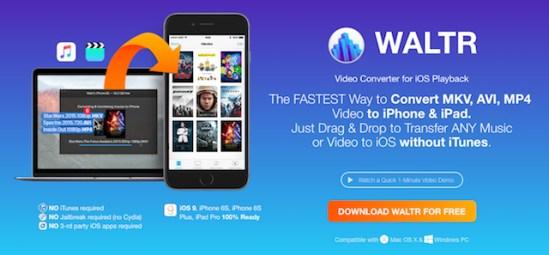 WALTR: c�mo guardar musica y pel�culas en tu iPhone sin usar iTunes