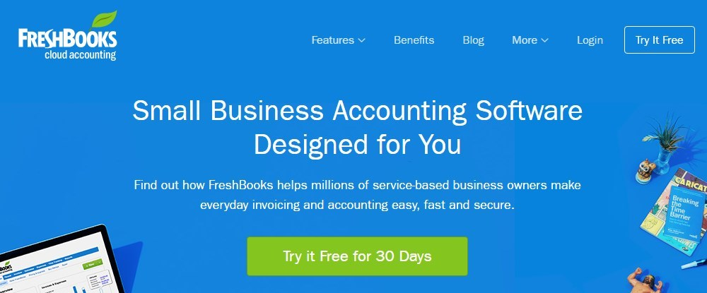 FreshBooks vs QuickBooks vs Xero vs Sprout Invoices