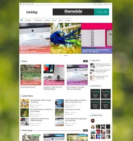 10+ Best Free Magazine WordPress Themes for 2018 - best free wordpress templates