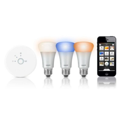 Philips Hue smart bulbs. IoT examples