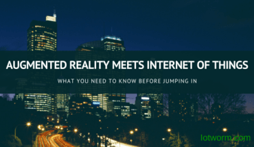 Augmented Reality (AR) Meets Internet of Things (IoT) Technology