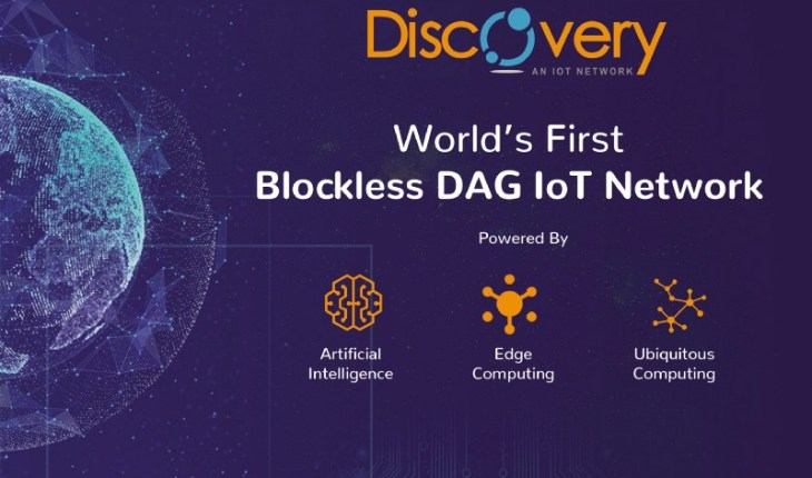 DiscoveryIoT World's first Blockless DAG IoT Network