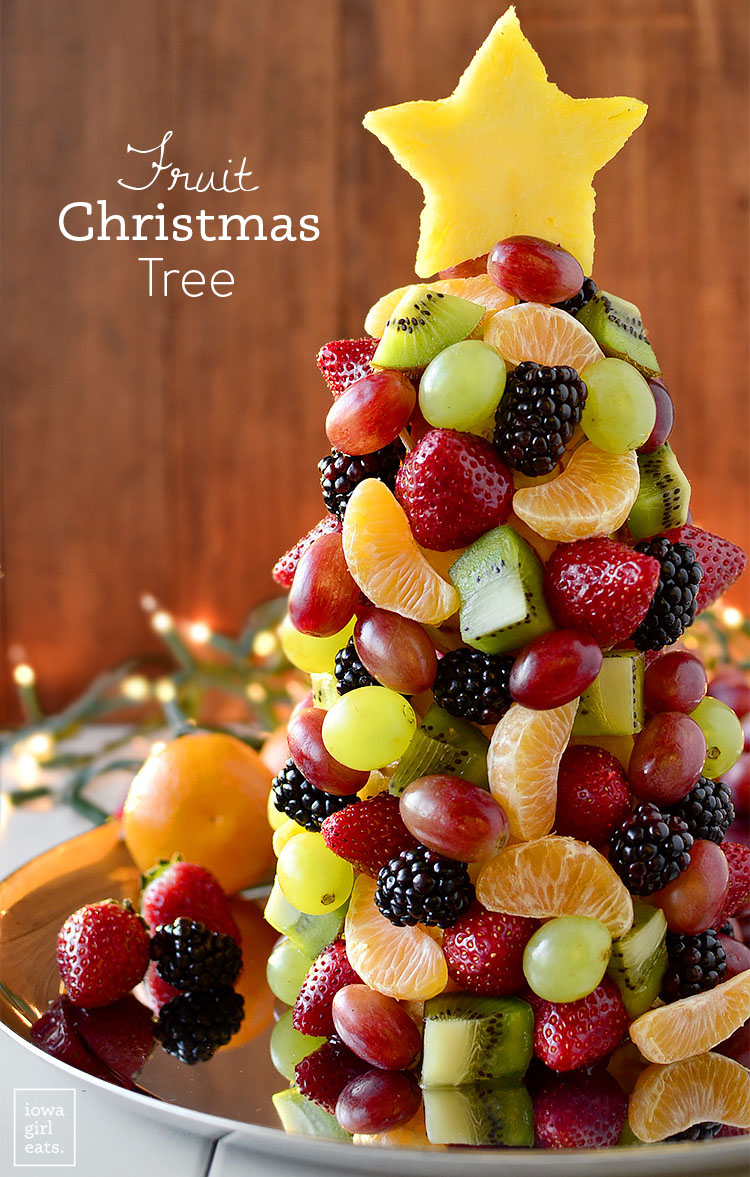 Healthy Christmas Appetizers Pinterest Fruit Christmas Tree