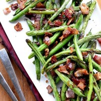 15-Minute Green Beans and Bacon