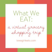 What We Eat: A Virtual Grocery Shopping Trip