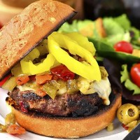 Chicago-Style Italian Burgers