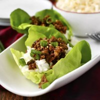 15 Minute Korean Beef Lettuce Wraps