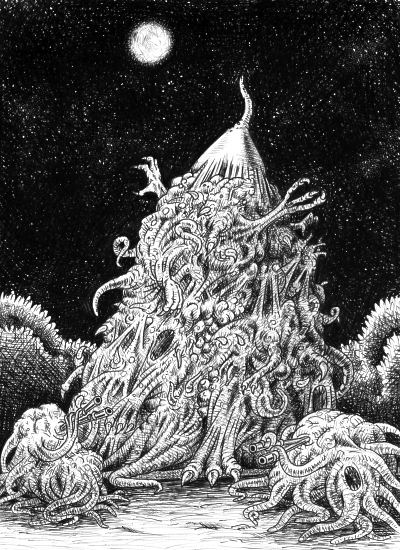 Presidential candidate Nyarlathotep, better known by its nickname the Crawling Chaos. Image: BenduKiwi/Wikimedia Commons