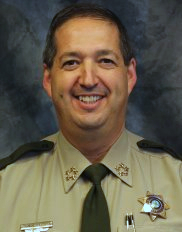 Johnson County Sheriff Lonny Pulkrabek