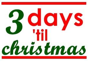 3 day 'til christmas