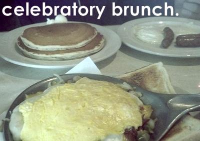 celebratory brunch