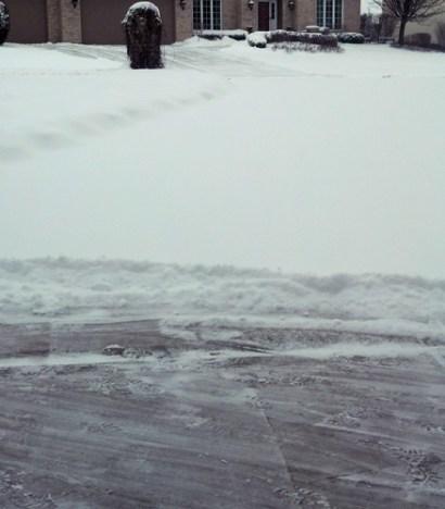shoveling ugh