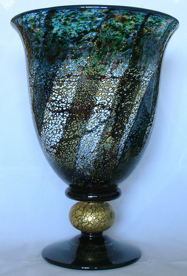 Tall Vases Undercliff - Wight Glass Collectors