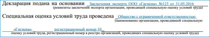 Образец Заполнения Уточненной Декларации По Соут - фото 7